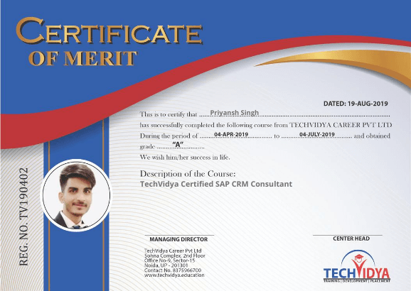 sap institute crm training fico concur hana java course abap certificate erp education noida join trained skilled highly experts industry